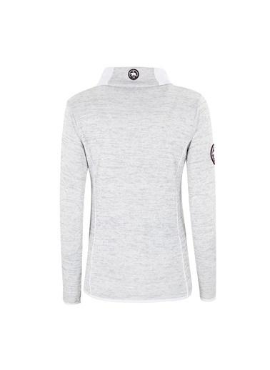 Norway Geographical Sweatshirt Beyaz